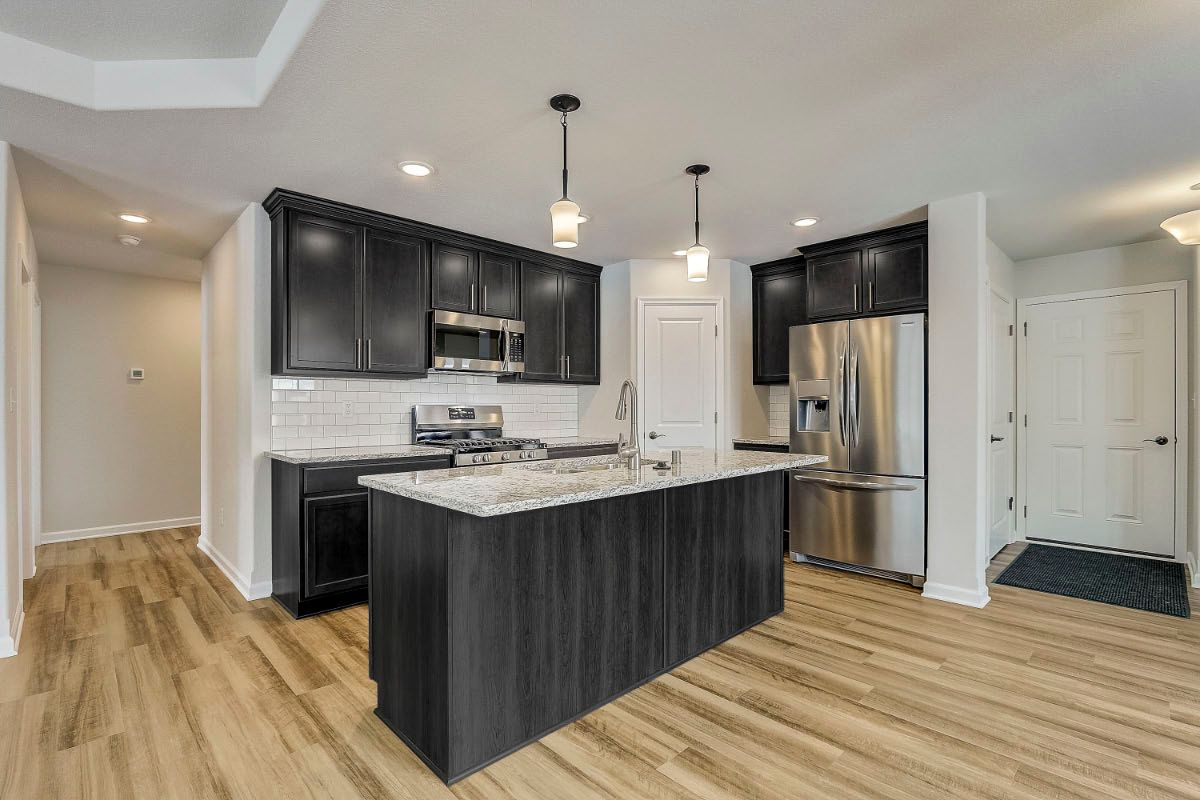 Kitchen featured in The Margo, Plan 1400 By Bielinski Homes, Inc. in Milwaukee-Waukesha, WI