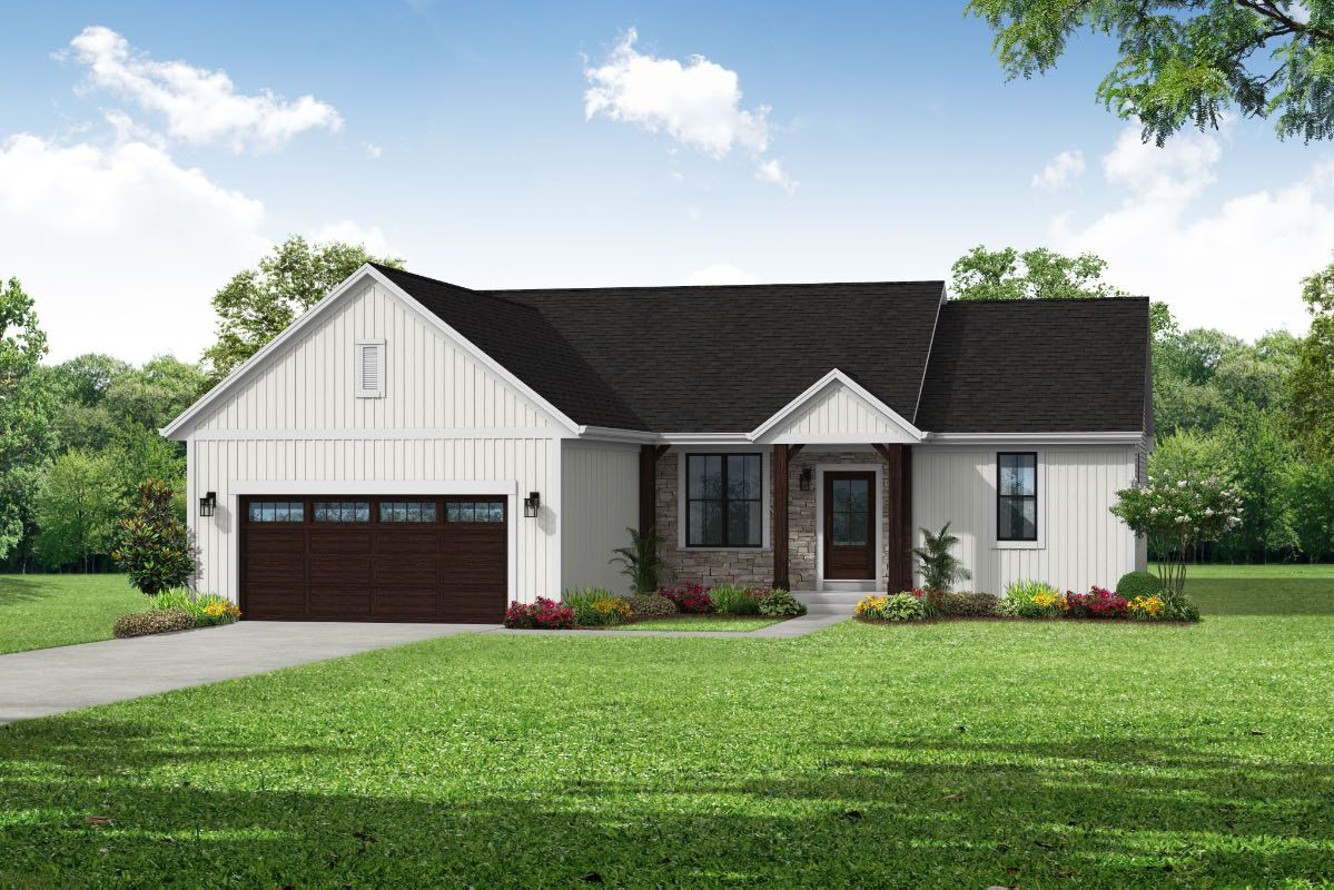 Exterior featured in The Hannah, Plan 1664 By Bielinski Homes, Inc. in Racine, WI