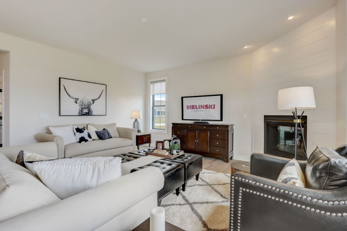 Living Area featured in The Arielle, Plan 2500 By Bielinski Homes, Inc. in Ozaukee-Sheboygan, WI