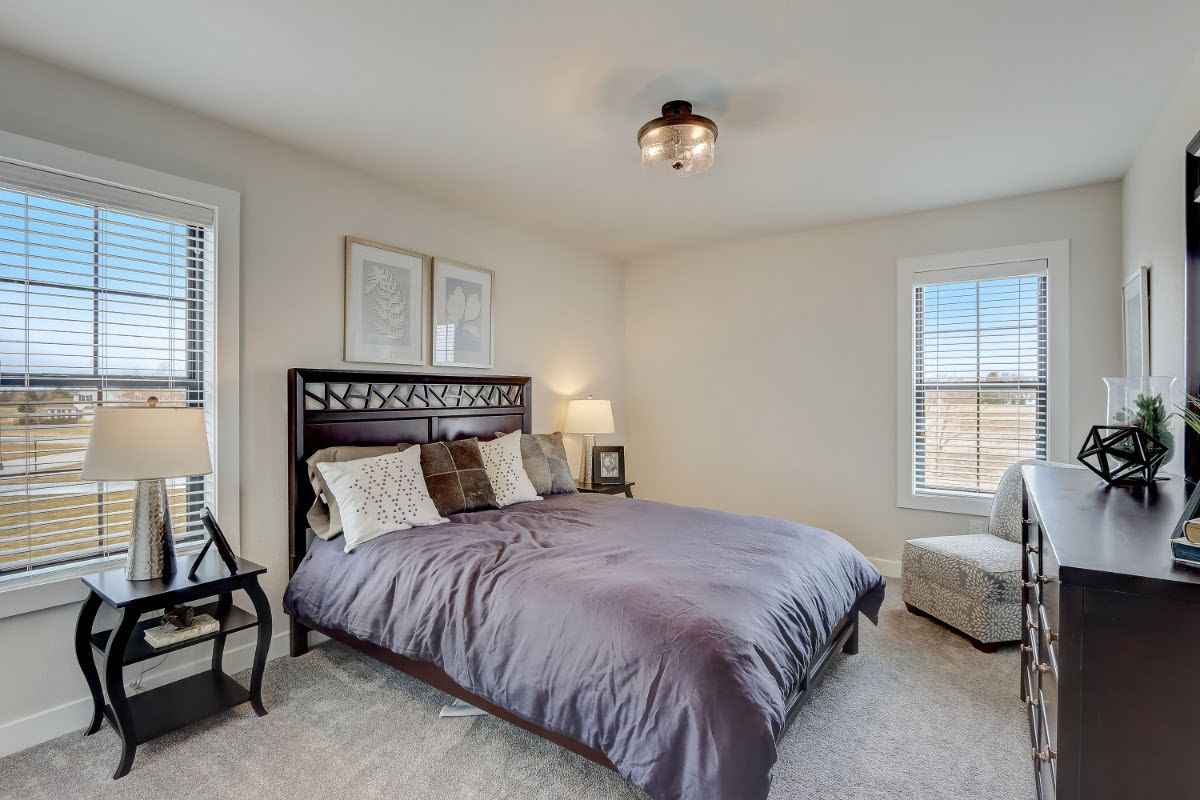 Bedroom featured in The Arielle, Plan 2500 By Bielinski Homes, Inc. in Ozaukee-Sheboygan, WI