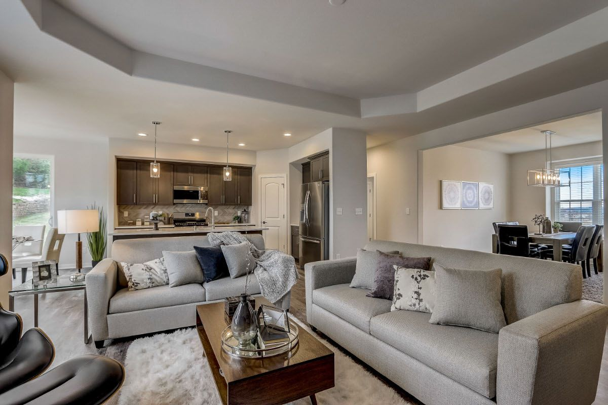 Living Area featured in The Peyton, Plan 1880 By Bielinski Homes, Inc. in Ozaukee-Sheboygan, WI