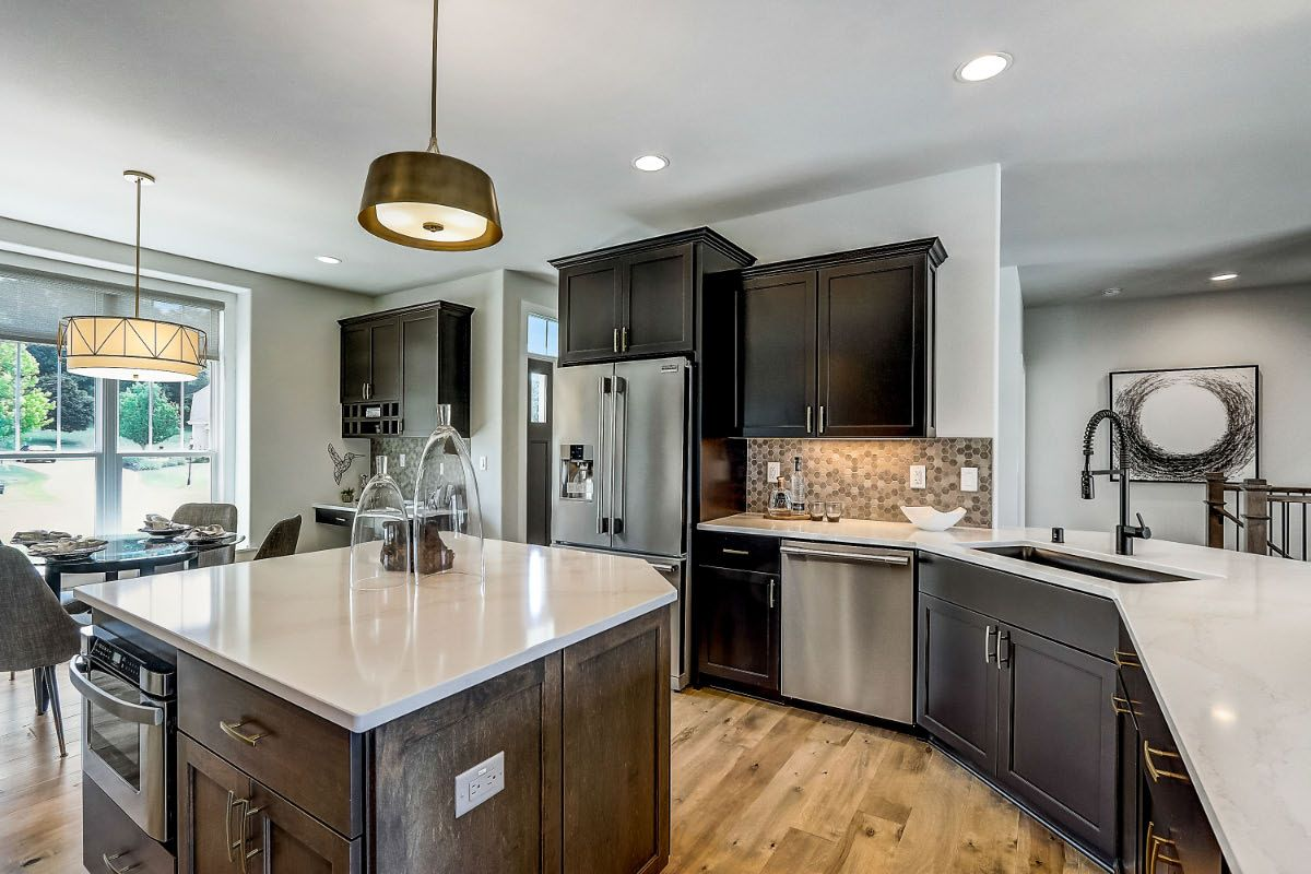 Kitchen featured in The Clemont, Plan 2222 By Bielinski Homes, Inc. in Ozaukee-Sheboygan, WI