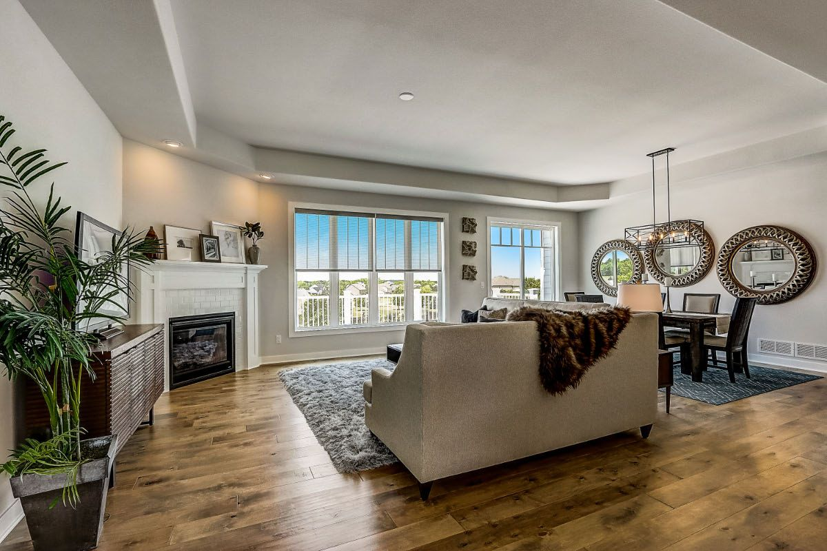 Living Area featured in The Clemont, Plan 2222 By Bielinski Homes, Inc. in Ozaukee-Sheboygan, WI