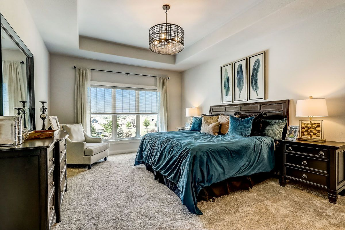 Bedroom featured in The Clemont, Plan 2222 By Bielinski Homes, Inc. in Washington-Fond du Lac, WI