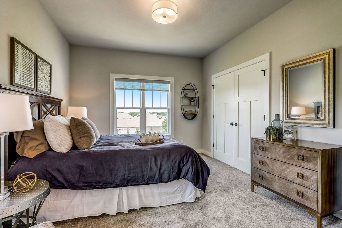 Bedroom featured in The Clemont, Plan 2222 By Bielinski Homes, Inc. in Ozaukee-Sheboygan, WI