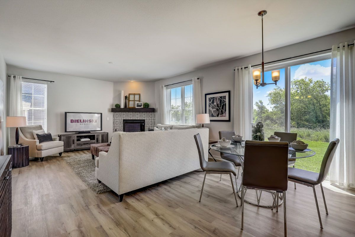 Living Area featured in The Elise, Plan 2025 By Bielinski Homes, Inc. in Racine, WI