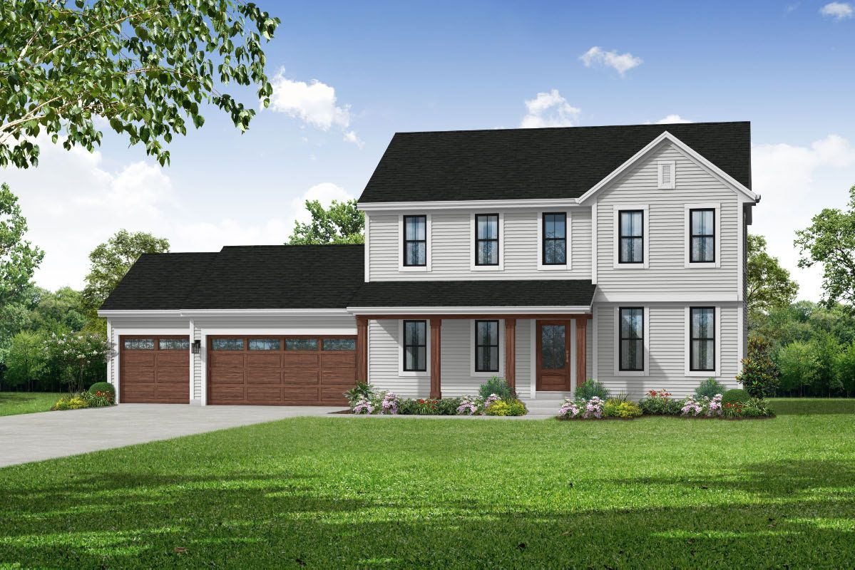 Exterior featured in The Hailey, Plan 2062 By Bielinski Homes, Inc. in Racine, WI