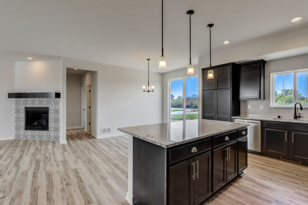 Kitchen featured in The Rylee, Plan 1654 By Bielinski Homes, Inc. in Racine, WI
