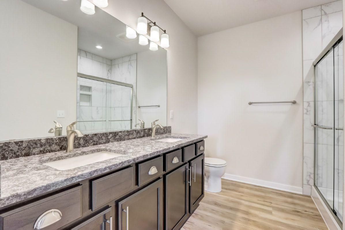 Bathroom featured in The Rylee, Plan 1654 By Bielinski Homes, Inc. in Racine, WI