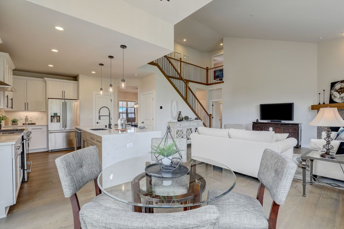 Living Area featured in The Charlotte, Plan 2506 By Bielinski Homes, Inc.
