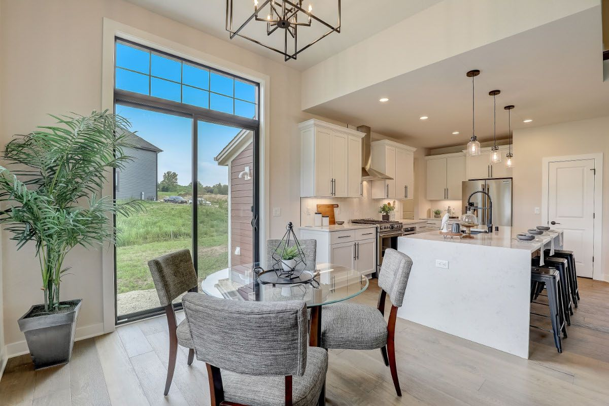 Kitchen featured in The Charlotte, Plan 2506 By Bielinski Homes, Inc. in Washington-Fond du Lac, WI