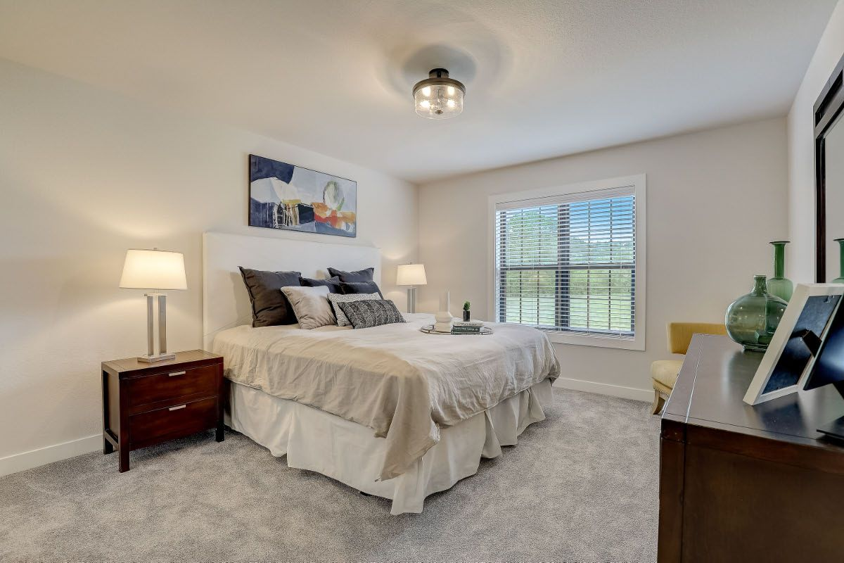 Bedroom featured in The Charlotte, Plan 2506 By Bielinski Homes, Inc. in Washington-Fond du Lac, WI