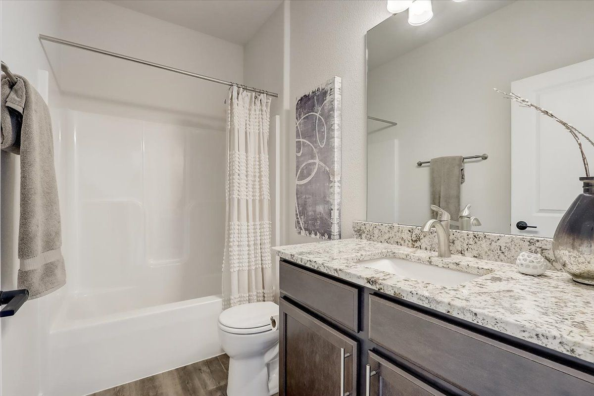 Bathroom featured in The Hannah, Plan 1664 By Bielinski Homes, Inc. in Washington-Fond du Lac, WI