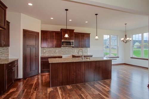 Kitchen-in-The Preston, Plan 2007-at-Harvest Pointe-in-Elkhorn