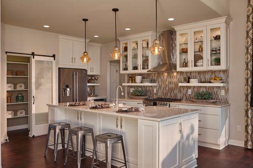 Kitchen-in-The Charlotte, Plan 2560-at-Prairie Glen-in-Germantown