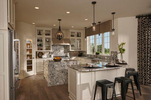 Kitchen-in-The Verona, Plan 3000-at-Prairie Glen-in-Germantown