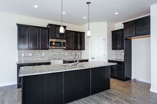 Kitchen-in-The Preston, Plan 1800-at-Lake Bluff-in-East Troy