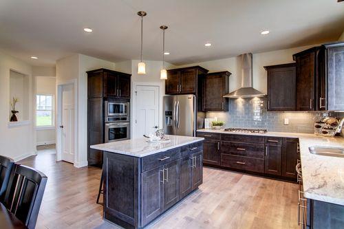Kitchen-in-The Franklin, Plan 2514-at-Prairie Glen-in-Germantown