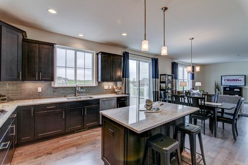 Kitchen-in-The Franklin, Plan 2514-at-Harvest Pointe-in-Elkhorn