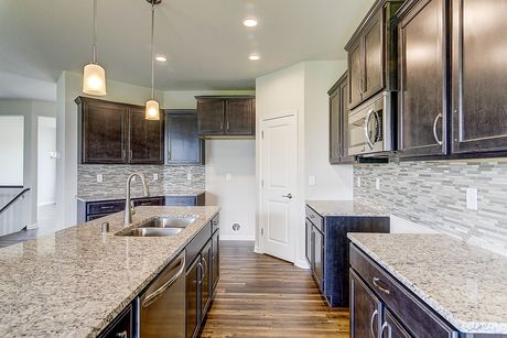 Kitchen-in-The Brooklynn, Plan 2100-at-Fairwinds-in-Mukwonago