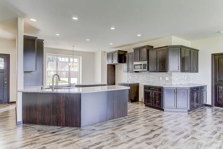 Kitchen-in-The Shorewood, Plan 1845-at-Hunter Oaks-in-Watertown