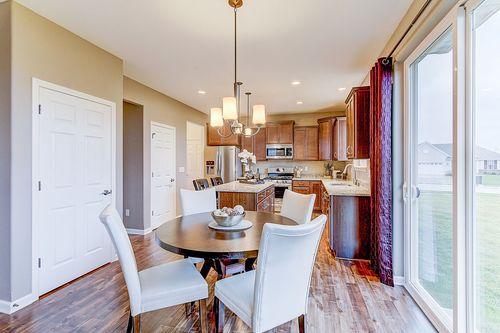 Kitchen-in-The Hallmark, Plan 2050-at-Hunter Oaks-in-Watertown