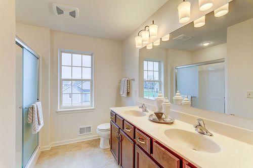 Bathroom-in-The Hallmark, Plan 2050-at-Hunter Oaks-in-Watertown