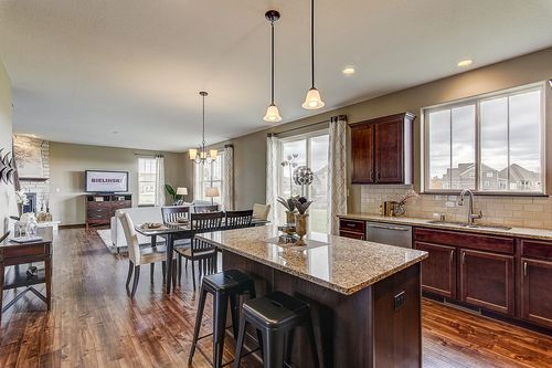 Kitchen-in-The Franklin, Plan 2310-at-Harvest Pointe-in-Elkhorn