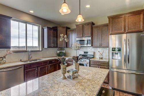 Kitchen-in-The Franklin, Plan 2310-at-Rolling Oaks-in-Waukesha