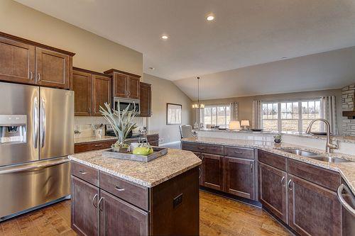 Kitchen-in-The Shorewood, Plan 1800-at-Hunter Oaks-in-Watertown