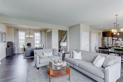 Greatroom-and-Dining-in-The Hallmark, Plan 2204-at-Hunter Oaks-in-Watertown