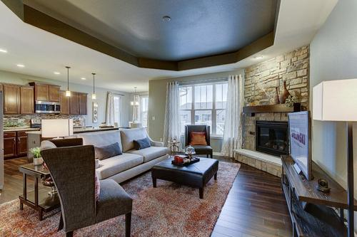Greatroom-and-Dining-in-The Preston, Plan 1812-at-Hunter Oaks-in-Watertown