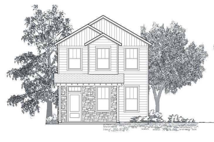 The Ridgeview:Plan 4