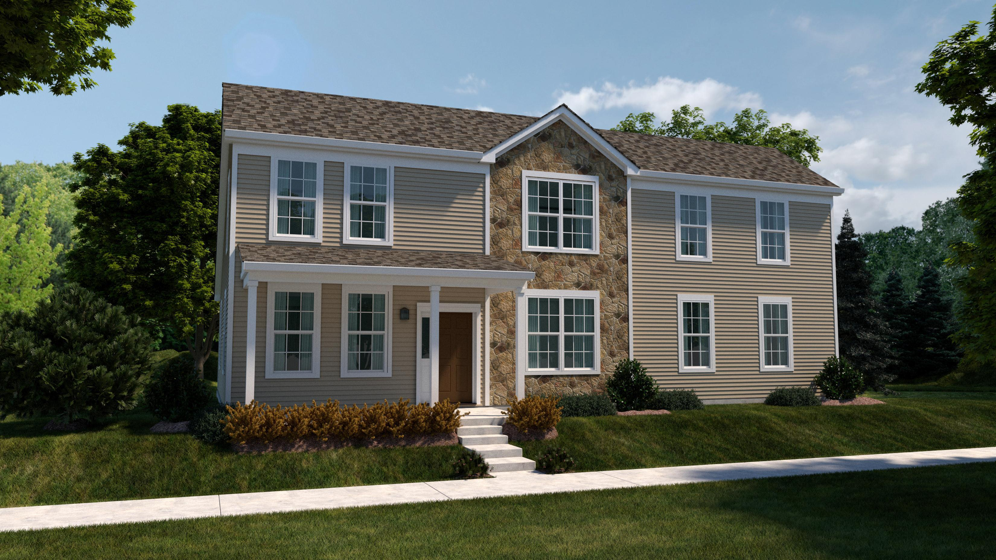 Exterior featured in The Symphony By Bigelow Homes in Chicago, IL
