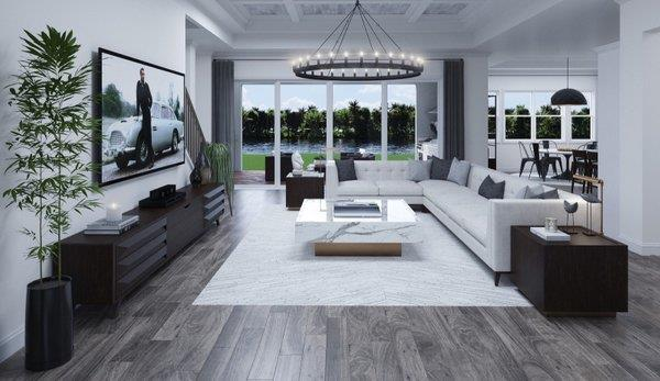 Living Area featured in the Sabal 1 By Biscayne Homes in Tampa-St. Petersburg, FL