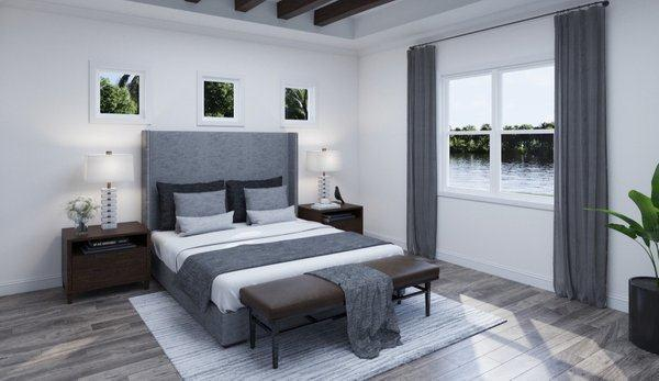 Bedroom featured in the Sabal 3 By Biscayne Homes in Tampa-St. Petersburg, FL