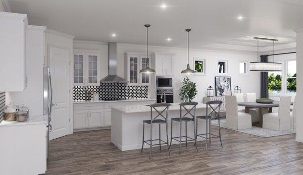 Kitchen featured in the Bismark 2 By Biscayne Homes in Tampa-St. Petersburg, FL