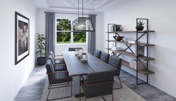 Living Area featured in the Canary 1 By Biscayne Homes in Tampa-St. Petersburg, FL