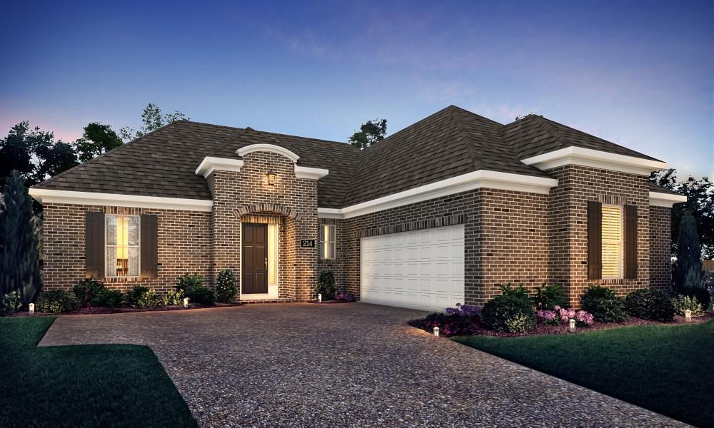Exterior featured in the Avignon By Blackburn Communities in Tupelo, MS