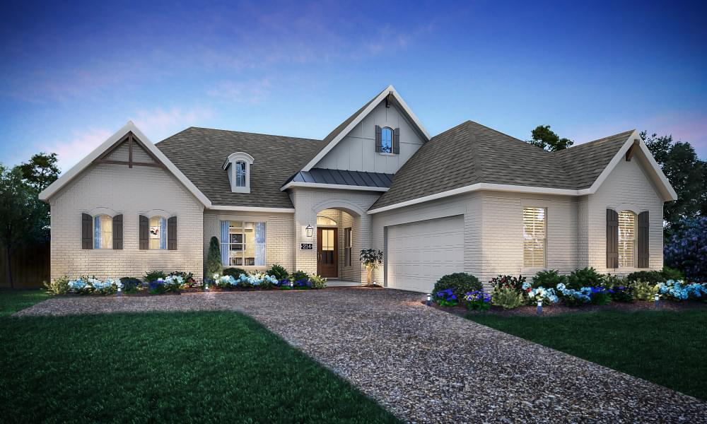 Exterior featured in the Bordeaux By Blackburn Communities in Tupelo, MS