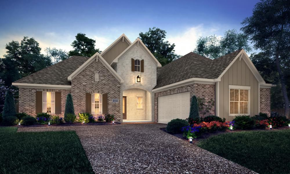 Exterior featured in the Colmar By Blackburn Communities in Tupelo, MS