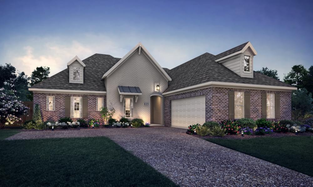 Exterior featured in the Le Mans By Blackburn Communities in Tupelo, MS