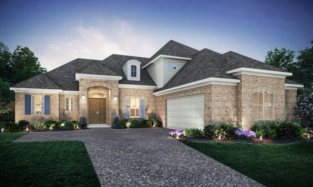 Exterior featured in the Lyon By Blackburn Communities in Tupelo, MS