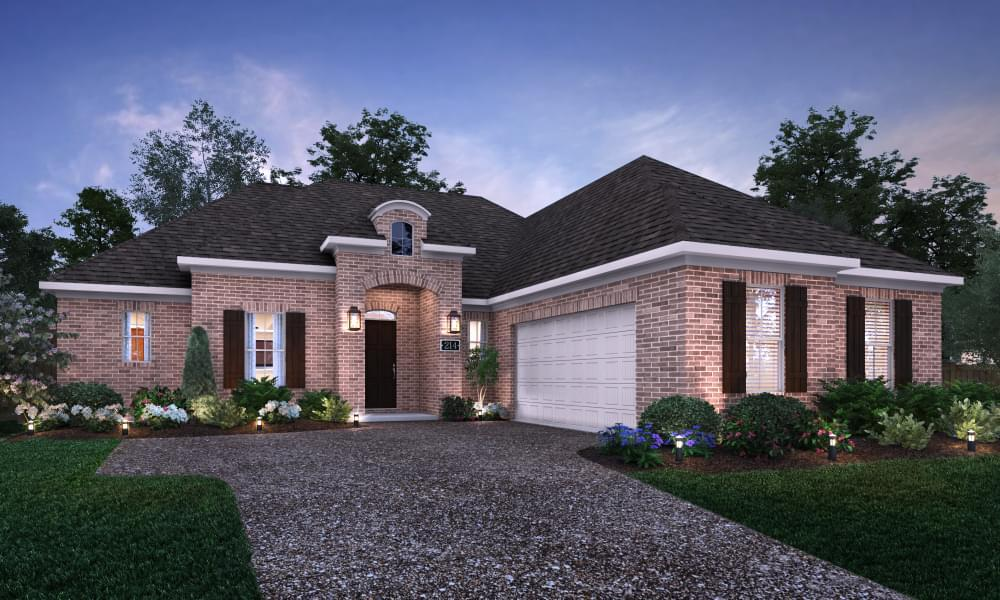 Exterior featured in the Marseille By Blackburn Communities in Tupelo, MS