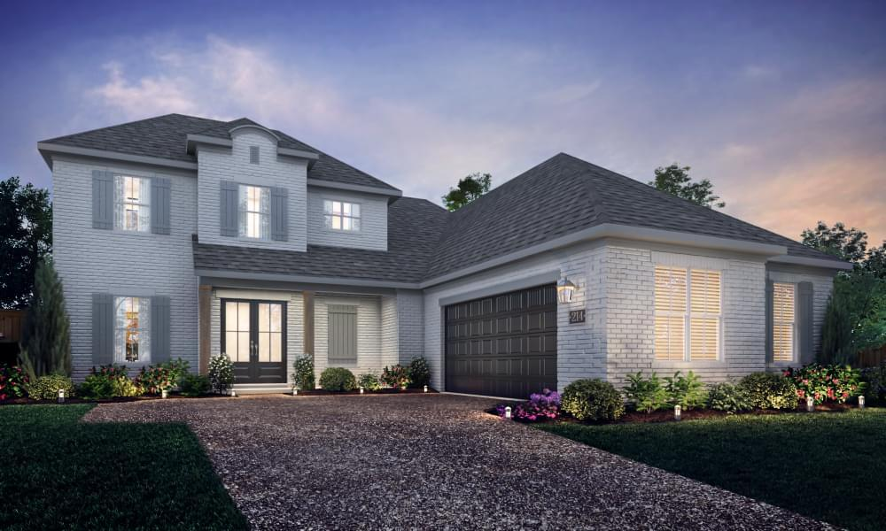 Exterior featured in the Orleans By Blackburn Communities in Tupelo, MS