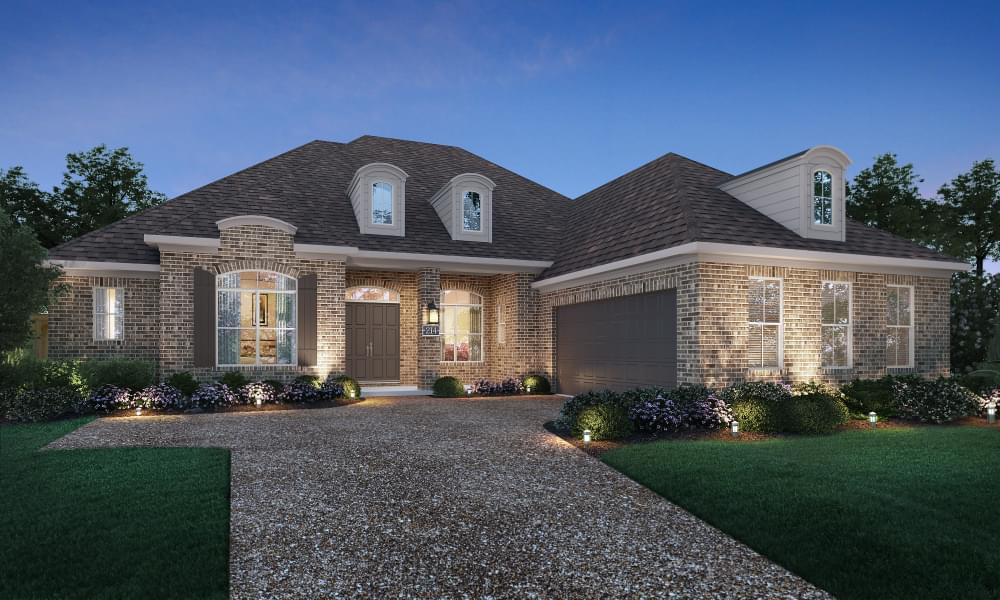 Exterior featured in the Versailles By Blackburn Communities in Tupelo, MS