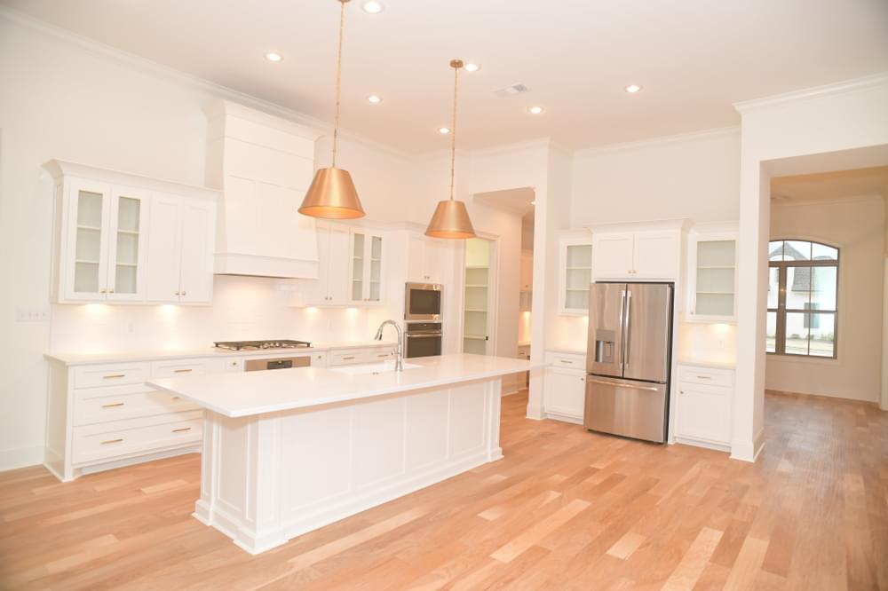 Kitchen featured in the Versailles By Blackburn Communities in Tupelo, MS