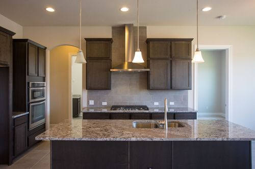 Kitchen-in-San Marcos-at-Gardens at Mayfield-in-Round Rock