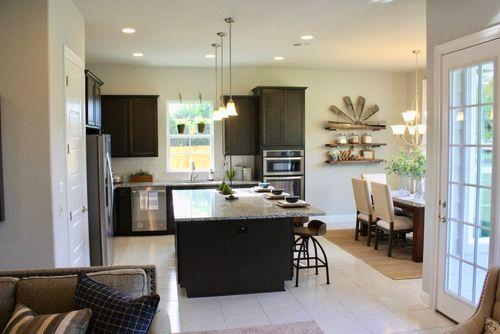 Kitchen-in-Pecos-at-Gardens at Mayfield-in-Round Rock