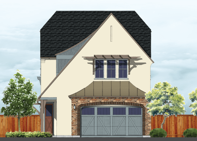 Exterior featured in the Residence 2 By BlackPine Communites in Sacramento, CA